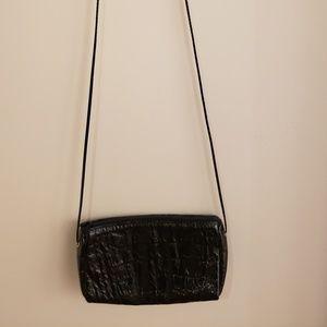 Vintage Genuine Leather Mini Crossbody Bag